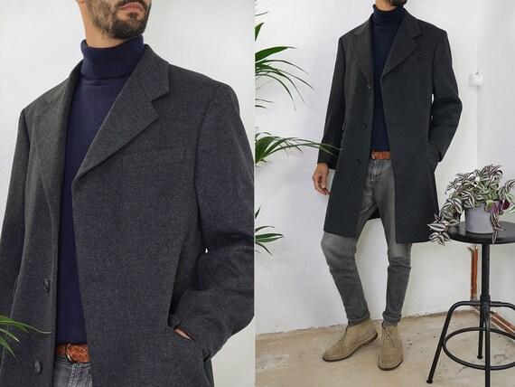 Cashmere Coat Vintage Wool Coat Cashmere Jacket Vi
