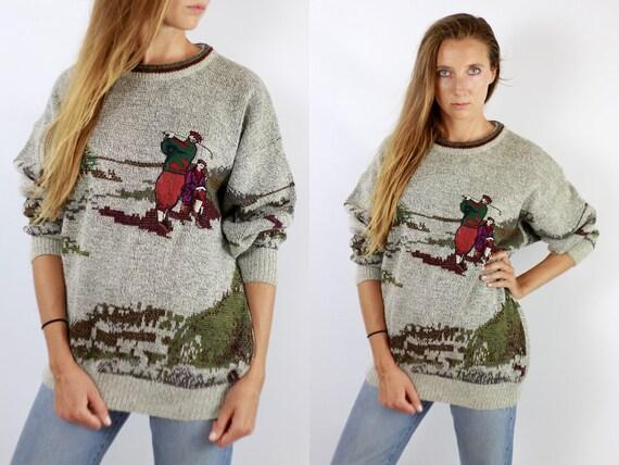 Vintage Wool Jumper Vintage Wool Sweater Golf Jumper Golf Sweater Oversize Jumper Oversize Sweater Warm Wool Jumper Warm Wool Sweater Wp60