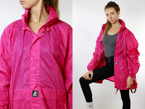 Waterproof Jacket Rain Jacket Festival Jacket Festival Clothing K Way Jacket Zip Jacket Womens Jacket Fanny Pack Vintage Clothing JA92