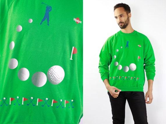 Vintage Sweatshirt  90s Sweatshirt Vintage Sweater 90s Sweater Oversize Sweatshirt Oversize Sweater 90s Jumper Green Sweatshirt
