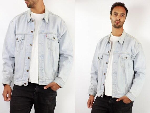 LEVIS Denim Jacket Levis Jean Jacket Denim Jacket Levis Large Jean Jacket 90s Levis Jacket Blue Vintage Denim Jacket Vintage Levis JJ272