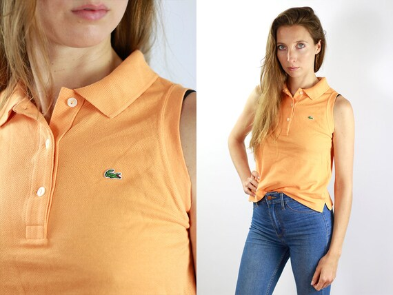 Lacoste Poloshirt Orange Poloshirt Lacoste Polo Shirt Vintage Lacoste Polo Shirt Lacoste Shirt Orange Polo Shirt Vintage Lacoste Shirt T86