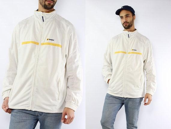 Vintage Windbreaker 90s Windbreaker Vintage Track Jacket 90s Track Jacket Lotto Windbreaker Lotto Track Jacket Lotto Jacket 90s Nylon Jacket