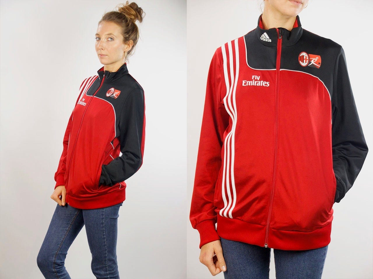 Fly Emirates Jacket Adidas Windbreaker Adidas Track