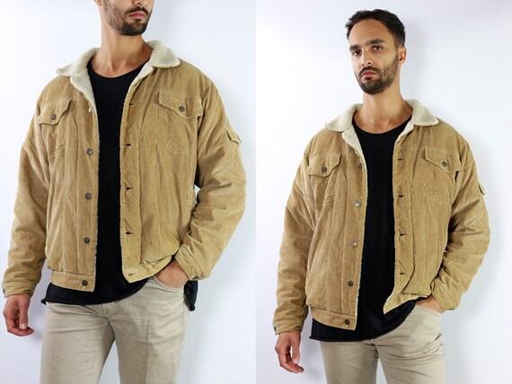 Corduroy Jacket Corduroy Coat Vintage Denim Jacket Vintage Jean Jacket Brown Denim Jacket Brown Jean Jacket Corduroy Jacket Brown JA36