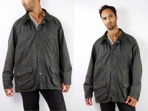 BARBOUR Coat Barbour BEDALE Wax Jacket Vintage Barbour Bedale Coat Parka Blue Coat BARBOUR Wax Jacket Blue Wax Coat Barbour Coat Waxed C93