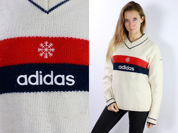 Adidas Sweatshirt Adidas Sweater Adidas Jumper 90s Adidas Jacket Vintage Sweatshirt Vintage Jumper Oversize Jumper Oversize Sweatshirt P38