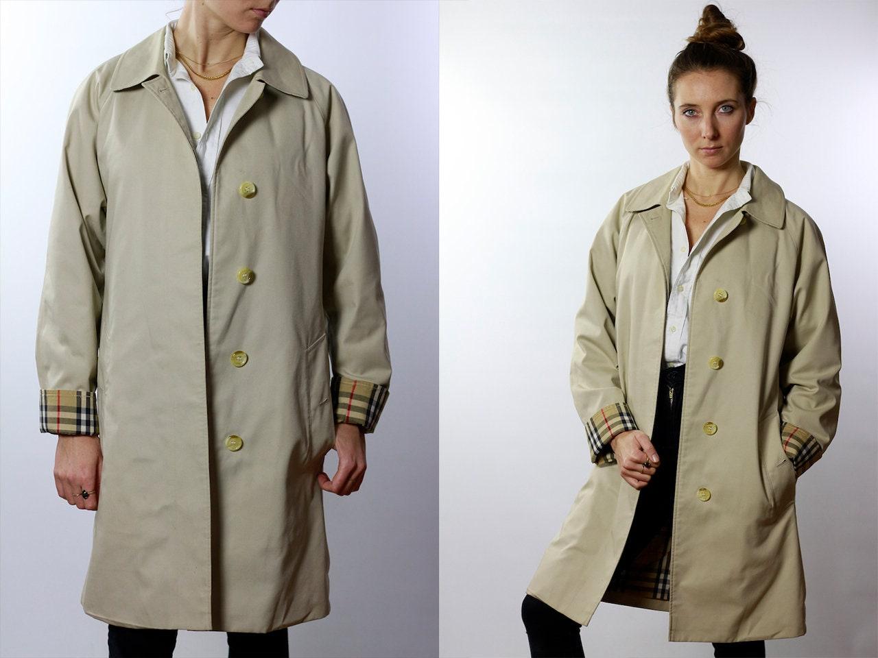 350335164136f BURBERRYS Trenchcoat Vintage Burberry Coat Beige Women ...