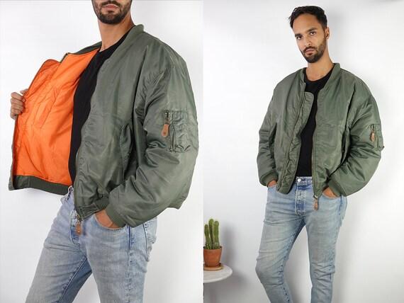 Green Bomber Jacket Green Puffer Jacket Bomber Jacket Puffer Jacket Green Bomber Jacket Vintage Bomber Jacket Vintage Jacket Green 90s JA126
