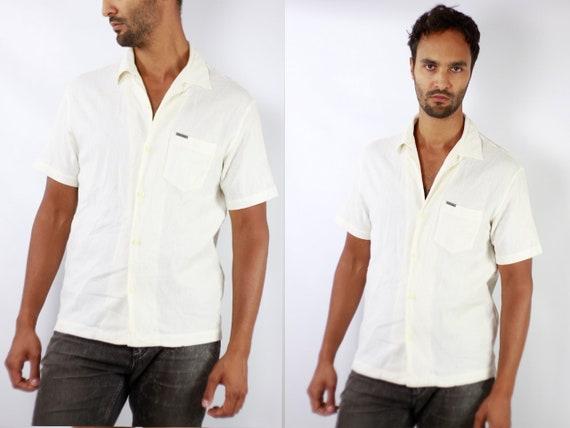 CALVIN KLEIN 90s  Vintage Calvin Klein  Longsleeve  Calvin Klein Shirt Calvin Klein Men  YUMMY Vintage