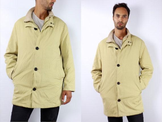 Burberry Jacket Burberrys Jacket Burberry Coat Burberrys Coat Yellow Burberry Coat Mens Jacket Coat Burberry Mens Coat Yellow Winter C80