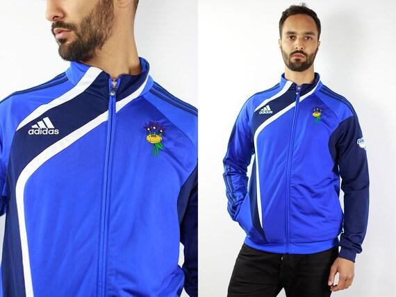 Adidas Windbreaker Jacket Vintage Windbreaker 90s Windbreaker Adidas Track Jacket Adidas Shell Jacket Adidas 90s Adidas Jacket