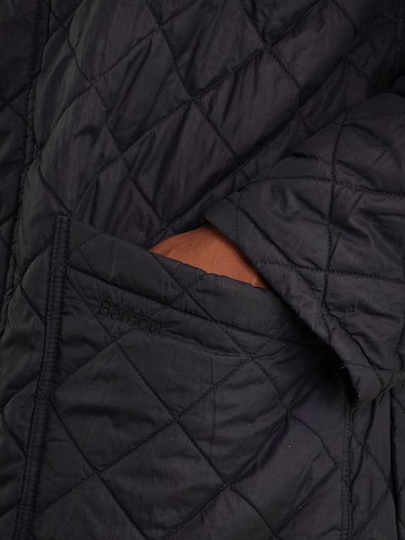 Barbour Jacket Black Quilted Barbour Coat Barbour… - image 4