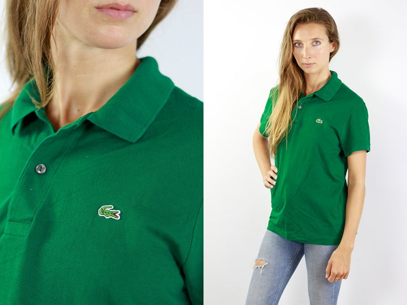 cc9e0abf1 Lacoste Poloshirt Green Poloshirt Lacoste Polo Shirt Vintage
