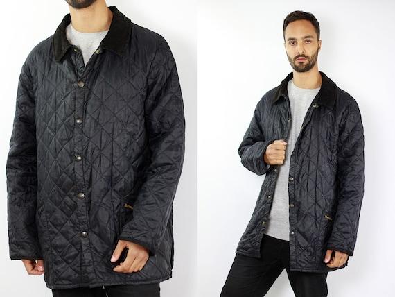 Barbour Jacket Black Quilted Barbour Coat Barbour Jacket Quilted Quilted Coat Black Barbour Coat Liddesdale Barbour Jacket Barbour Coat C46