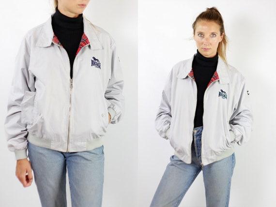 Lonsdale Jacket Bomber Jacket Lonsdale Vintage White Lonsdale Jacket Vintage Jacket Lonsdale White Jacket Bomber White Jacket Lonsdale J132