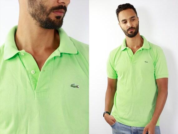 Lacoste Poloshirt Green Poloshirt Lacoste Polo Shirt Vintage Lacoste Polo Shirt Lacoste Shirt Green Polo Shirt Vintage Lacoste Shirt 90s