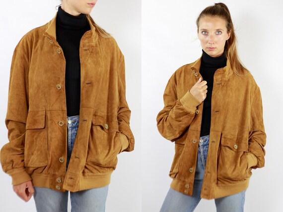 Brown Suede Jacket Suede Bomber Jacket Suede Jacket Brown Vintage Suede Jacket 80s Suede Jacket Bomber Jacket Suede Jacket Leather WLJ99