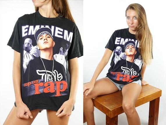 Eminem T Shirt Band T-Shirt 90s Band T-Shirt Vintage T-Shirt Eminem Shirt Oversize T-Shirt 90s T Shirt Vintage Clothing T90