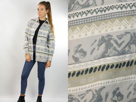 LUMBER JACK SHIRT / Vintage Lumber Shirt / Shirt Lumberjack / Grey Lumberjack Shirt / Vintage Shirt / Oversize Shirt / Thick Cotton Shirt