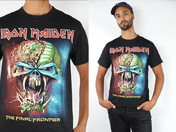Vintage T-Shirt Iron Maiden Shirt Iron Maiden Top 90s Shirt Band T-Shirt Vintage Iron Maiden T-Shirt 90s Metal Shirt Iron Maiden Retro T80