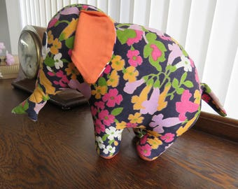 "Rare retro Chad Valley ""pop-art"" toy elephant"