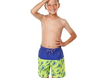 aa36db03fb7 Special Needs Incontinence Swimwear Board Shorts Pants Diapers for Older  Boys 3-16 years old by Kes-Vir