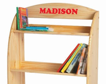 Little Colorado Personalized Modern Toddler Bookcase