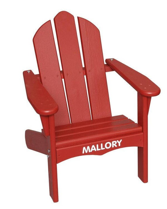 Little Colorado Personalized Adirondack Chair   Etsy