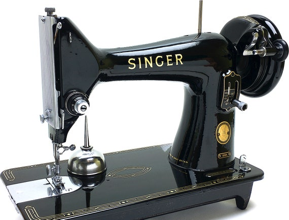 SINGER 40k 40 Sewing Machine Portable Vtg Restored Fully Etsy Awesome Singer Sewing Machine 99k Price