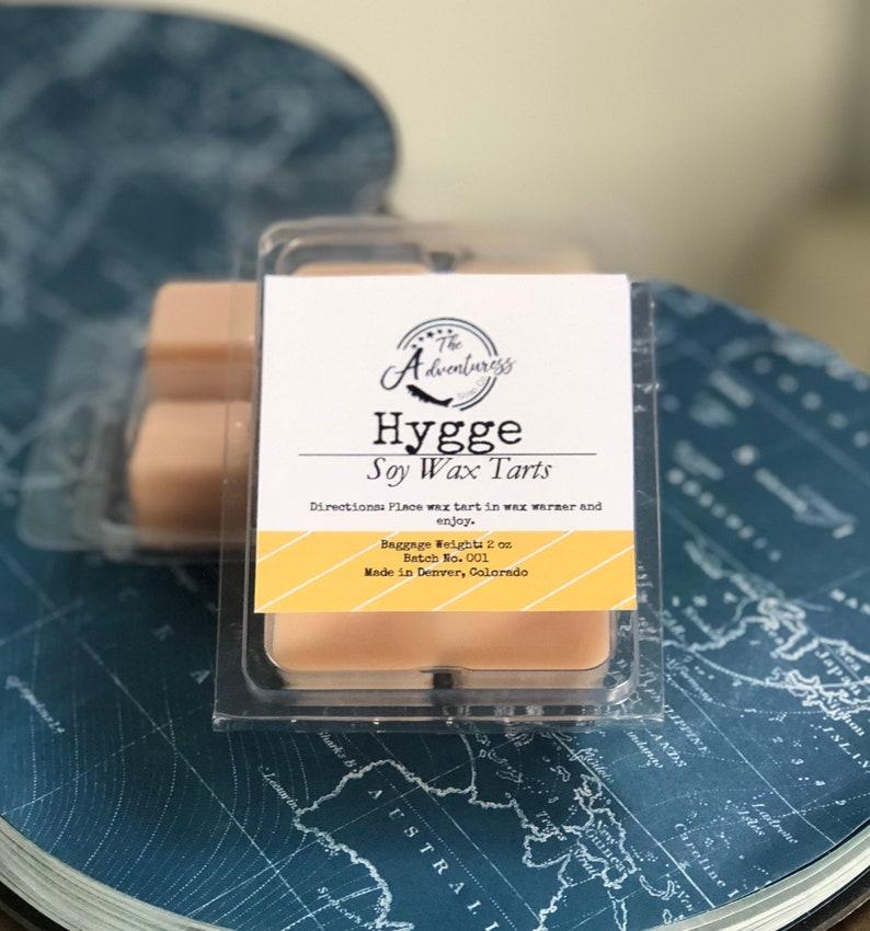 Hygge Soy Wax Tart Soy Wax Melt Tarts Nordic Danish Hygge Winter Inspired Wax Tart