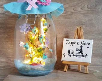 Swanky swing 1960 very rare marmalade jar jelly Dolphins Flipper
