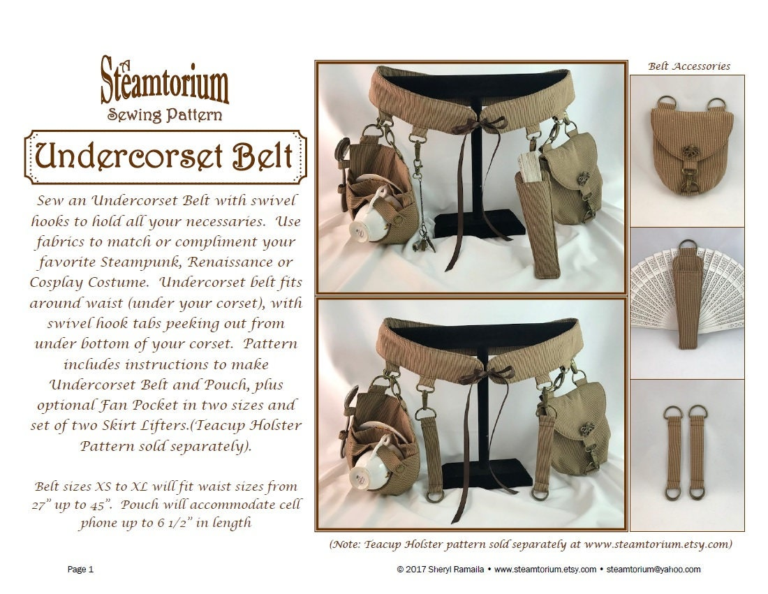 Corset Sewing Pattern Simple Decoration