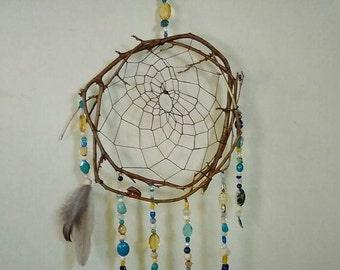 Shimmering Isle - Handmade Dreamcatcher