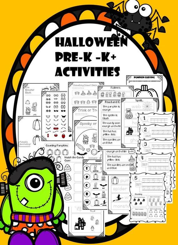 PreK Halloween Package