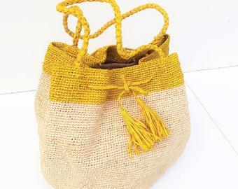 straw bag/shoulder bag/hook straw bag/woven straw bag/straw bag