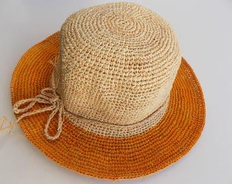 409f10fa657 Foldable straw hat