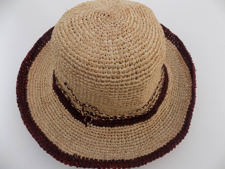wide-brimmed hat natural straw hat Sun Hat floppy hat