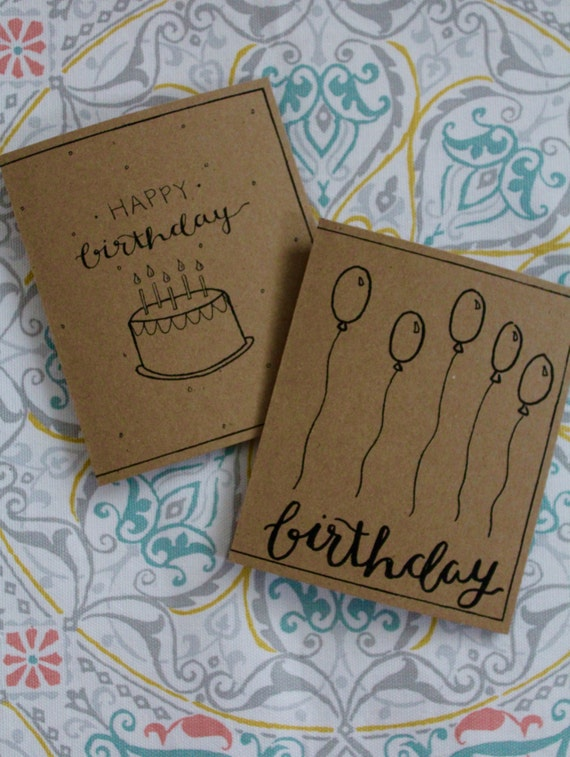Handwritten Birthday Cards Printable Color Me Yourself 2