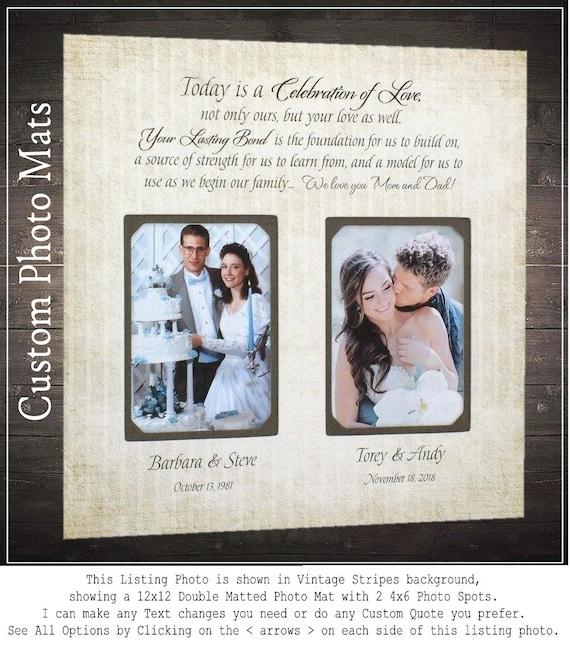 Custom Photo Frame Custom Photo Mat Wedding Photo Mat Photo   Etsy