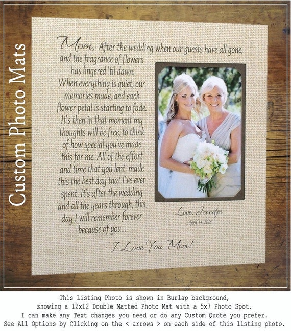 In-Laws Wedding Gift for Parents, Personalized Wedding Frame Photo ...