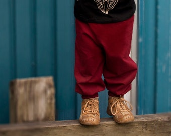 PETIE BOUDDHA, Sarouel pants kids - 95% cotton, comfotable, from 2 to 6 years old, evolve in shorts, stretchy fabric, aladdin style, hippie