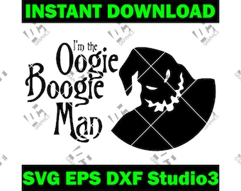 aaefd631a62 Oogie Boogie - Nightmare Before Christmas- Cutting File in SVG