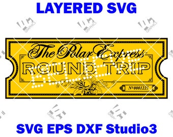 graphic about Printable Polar Express Tickets Boarding Passes called Polar convey ticket Etsy
