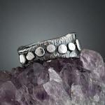 Sterling Silver CZ Ring - Silver Ring- CZ Ring - Silver Ball - CZ- Statement Ring - Cubic Zirconia Ring - Cubic Zirconia - Silver Ball Ring