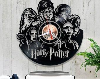 Harry Potter Vinyl Clock/Wall clock/Vinyl Record Clock *V083 Hermione Granger Record Clock/Wall Vinyl Clock/Record Wall Clock