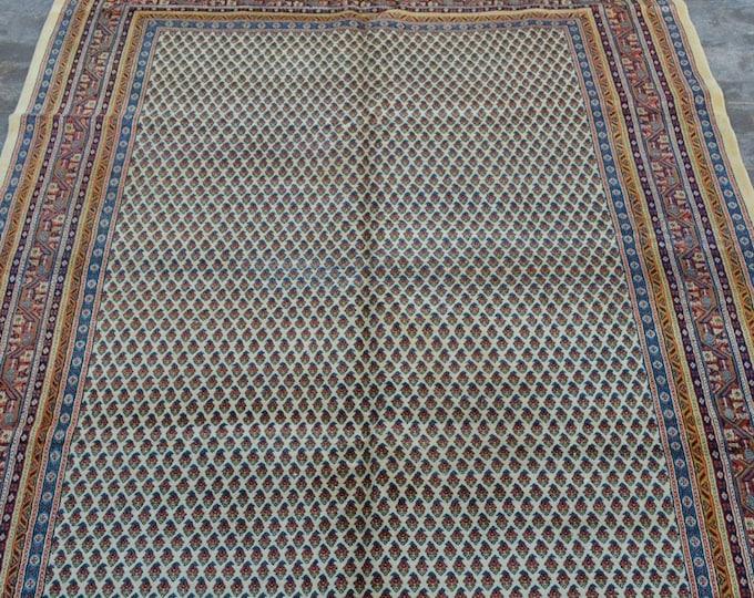 Stunning hand knotted Turkish tribal rug / decorative handmade rug vintage turkish rug