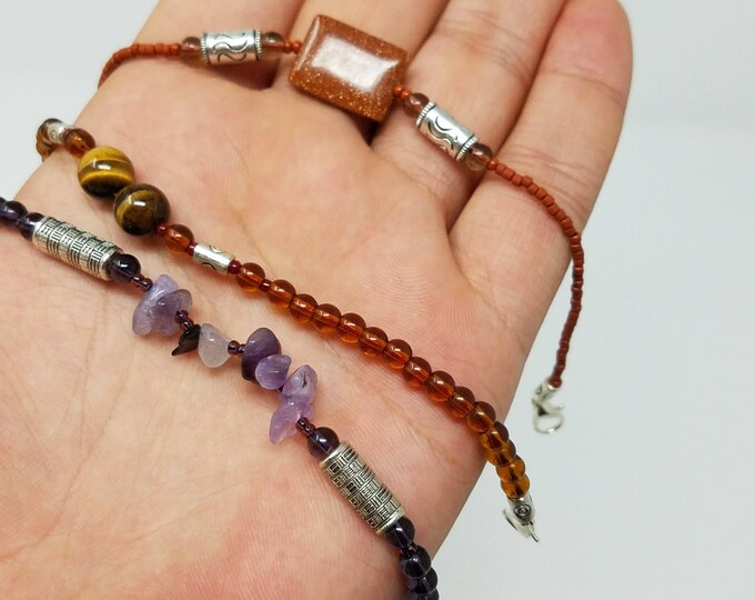 Beautiful 3 pcs Bracelets , gypsy Ethnic jewel/Afghan jewelry , Gypsy style jewelry Boho style