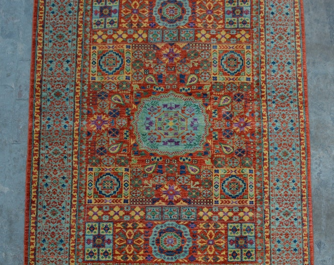 Best Quality hand knotted Oushak Mamlook rug / Decorative woolen rug area rug