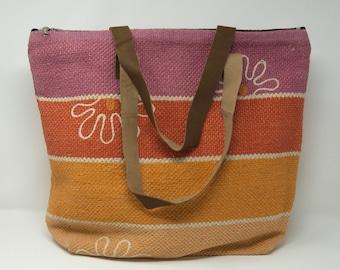 Handmade kilim Tote bag / tribal handmade handbag
